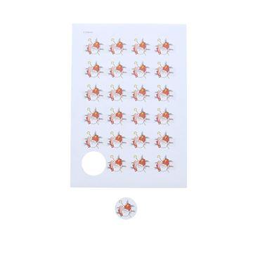Sticker 4 cm Sint Envelop