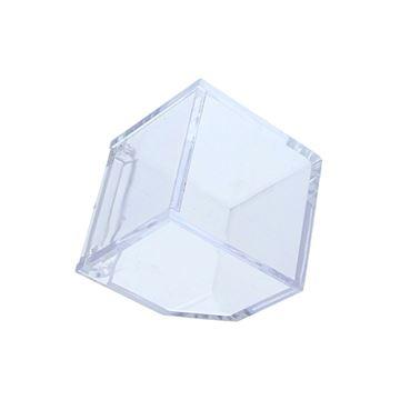 Plexi Oblique kubus met draaideksel