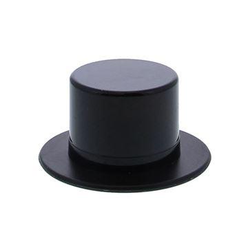 Plexi doosje hoed zwart