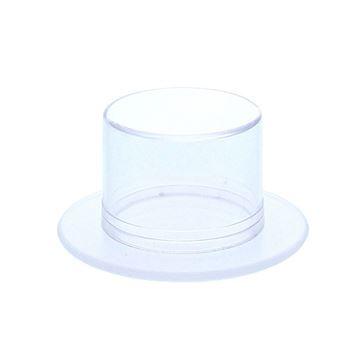 Plexi doosje hoed transparant