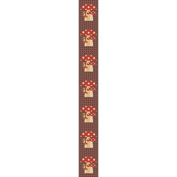 OB Banner Paddy uil op paddestoel 25 x 245 cm
