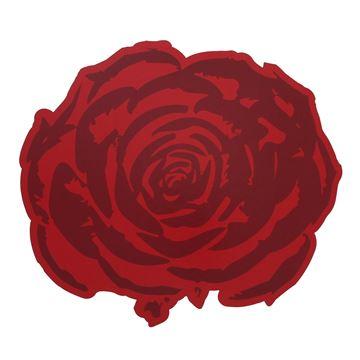 Pancarte Rose rood