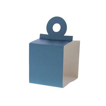 Houder voor kubus 250 gr. ijsblauw