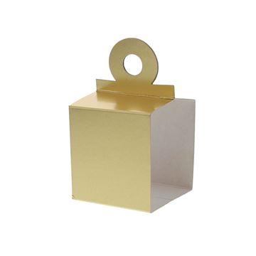 Houder voor kubus 250 gr. goud
