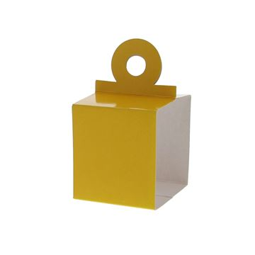Houder voor kubus 250 gr. geel