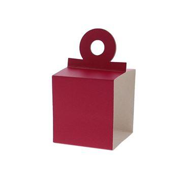 Houder voor kubus 250 gr. fuchsia