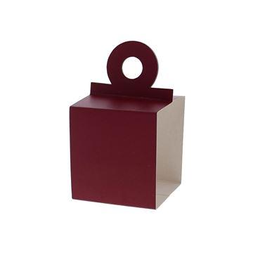 Houder voor kubus 250 gr. framboos