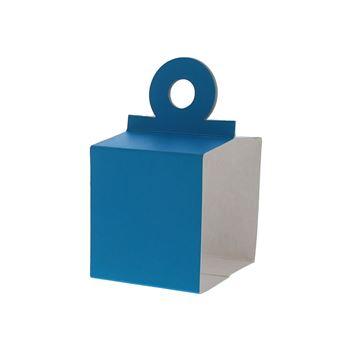 Houder voor kubus 250 gr. blauw