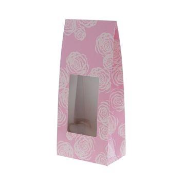 Venstertas Rose 20 cm roze