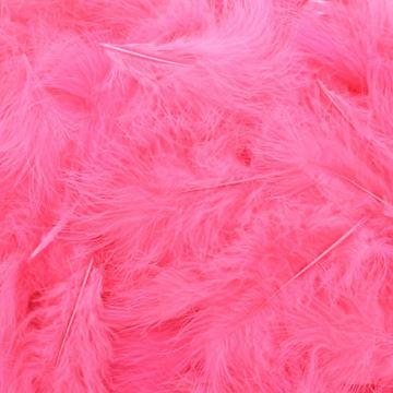 Pluimen donker roze  10006