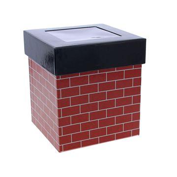 Brick schouw doos met vensterdeksel GM