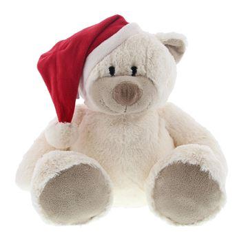 Bear Snoozy met kerstmuts 30 cm