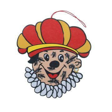 Zwarte Piet Roetpiet deco hanger GM