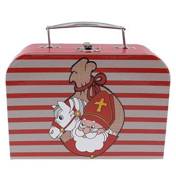 Spikkel Sint-paard-jutezak valies medium