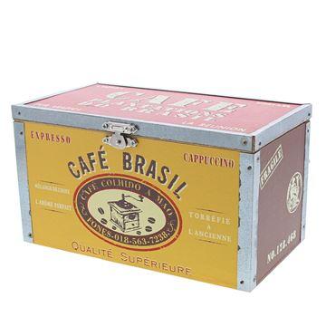 Cafe do brasil doos met deksel rechthoekig