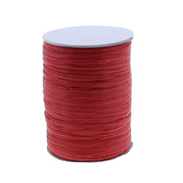 Raffia Rayon 100 m kleur 609 rood