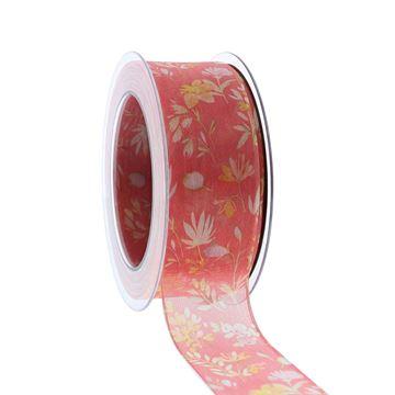 Lint Blumenregen 40mmx20m zalm kleur 44