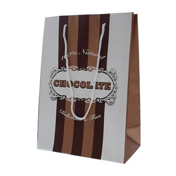 Chocolate lines papieren zak ZGM