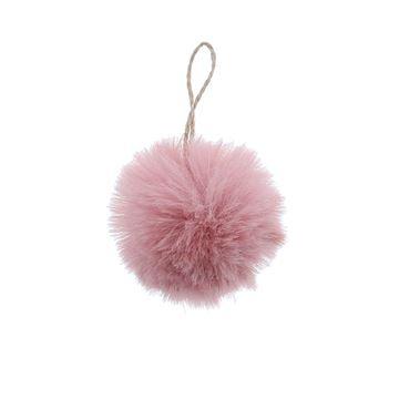 Bal Plush hanger roze KM