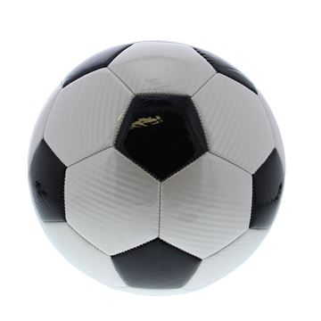 Voetbal M5 carbon 400gr. wit-zwart
