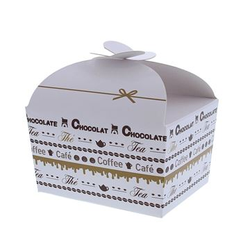 Doos vlindersluiting 250 gr. Goldy chocolate