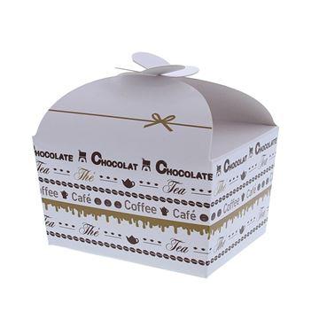 Doos vlindersluiting 250 gr. Goldy chocolate