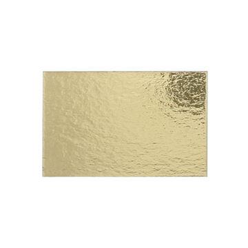 Goudkarton rechthoekig 65 x 101mm