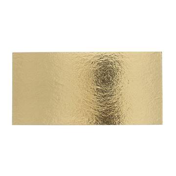 Goudkarton rechthoekig 133 x 273mm
