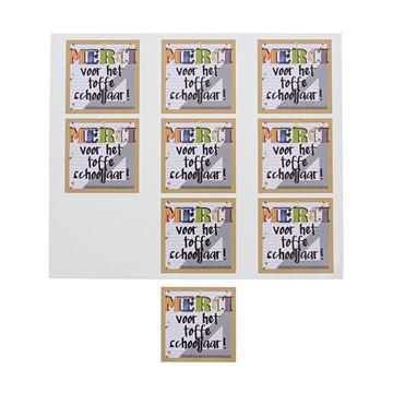 Sticker blinkend Patchwork merci GM Nederlands