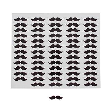 Sticker blinkend Snor KM
