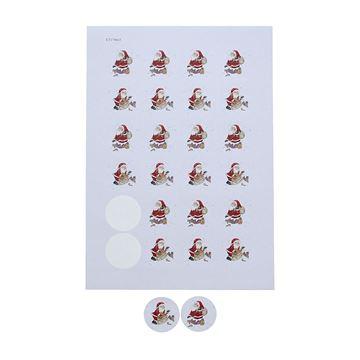 Sticker 4 cm Santa Jaku
