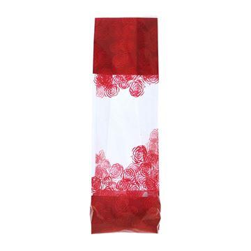 Soufflet zak 90 x 60 x 320 mm Rose rood