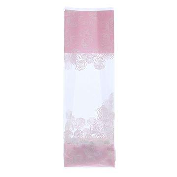Soufflet zak 90 x 60 x 320 mm Rose roze
