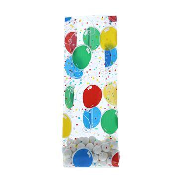 PP bag 10 x 2.5 x 30 cm ballonnen