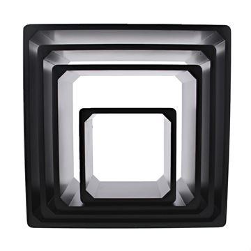 Decoratiebox zwart