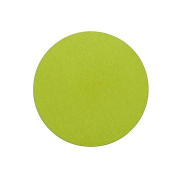 Zwart karton rond 160 x 1,5 mm licht groen