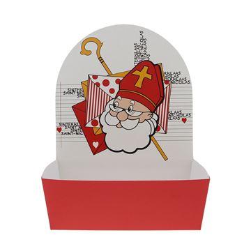 Mandje groot Sint Envelop