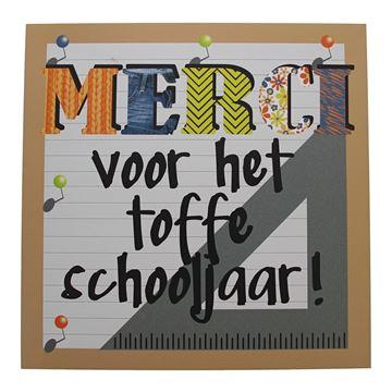 Pancarte Patchwork Merci Nederlands