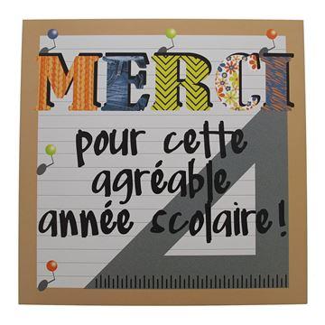 Pancarte Patchwork Merci Frans