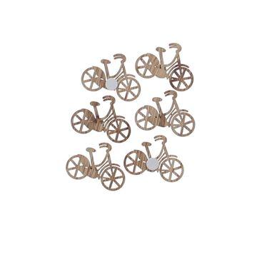 Houten fiets met klever