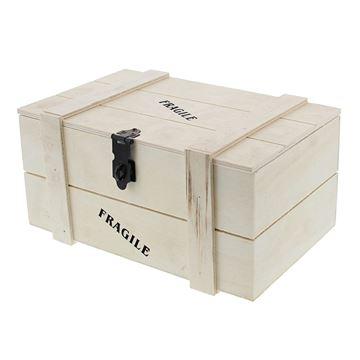 Fragile kist 1 kg. naturel