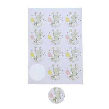 Sticker 6,35 cm Bunny Swing