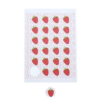 Sticker 4 cm Strawberry