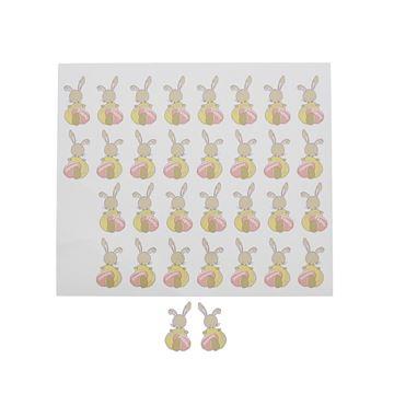 Sticker blinkend Bunny Swing Joyeuses Pâques KM