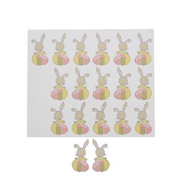 Sticker blinkend Bunny Swing Vrolijk Pasen GM