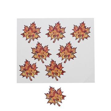 Sticker blinkend Autumn fruit blaadje GM
