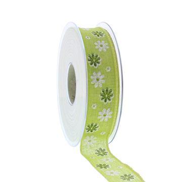 Lint Blumenfeld 25mmx20m groen kleur 53