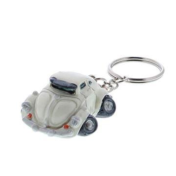 Creamy car gesloten model sleutelhanger