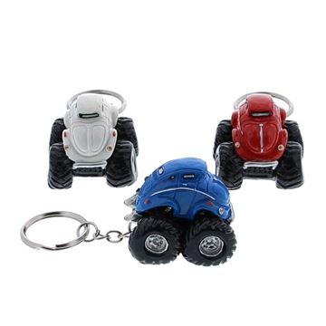 Monster auto Wibro sleutelhanger