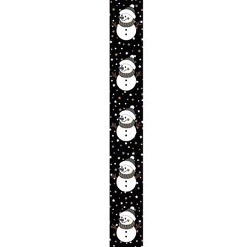 OB Banner sneeuwman Black nose 25 x 245 cm